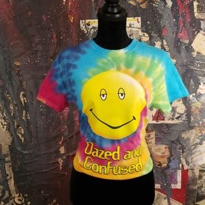 Dazed And Confused Psychedelic  Tie Dye Tee  0068